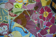 Abstract colorful mosaic texture background Stock Photography