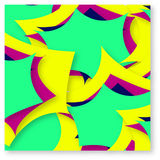 Abstract Colorful Multiple Effect Background Design Stock Photography