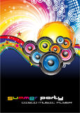 Abstract Colorful Music Background Stock Images