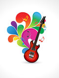 Abstract colorful music background Stock Photo