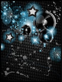 Abstract Colorful Music Event Background Stock Photos