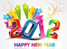 Abstract colorful new year background. Vector illustration Vector Illustration