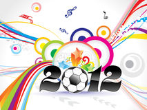 Abstract colorful new year background Royalty Free Stock Images
