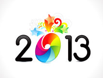 Abstract colorful new year background Royalty Free Stock Photo