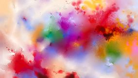 Abstract colorful oil painting on canvas texture Royalty Free Stock Image