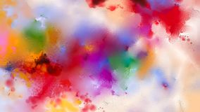 Abstract colorful oil painting on canvas texture Stock Photos