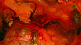 Abstract colorful paint ink liquid explode diffusion psychedelic blast movement stock video