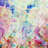 Abstract colorful painted watercolor splash and Stock Photo