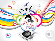 Abstract colorful party background Royalty Free Stock Photos