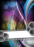 Abstract colorful party design Royalty Free Stock Photography