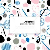 Abstract colorful pattern background for template design. Vector. Abstract colorful pattern background for template design with area for text. Vector Stock Photo