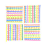 Abstract colorful pattern Stock Photography