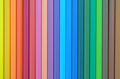 Abstract colorful pencils Stock Photography