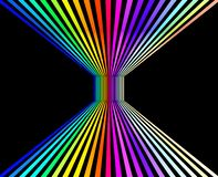 Abstract colorful perspective background,3D rendering royalty free stock image