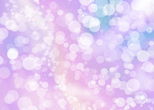 Abstract colorful pink bokeh wallpaper Royalty Free Stock Images