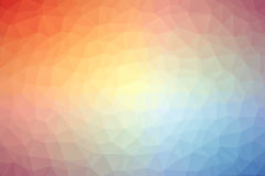 Abstract colorful polygon background or vector. Abstract colorful background made of polygons royalty free illustration