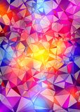 Abstract colorful polygonal background. Abstract colorful polygonal design background Royalty Free Illustration