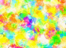 Abstract colorful polygonal background texture. Abstract colorful polygonal backgrounds texture Royalty Free Stock Image