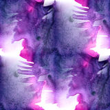 Abstract colorful purple pink seamless watercolor for background . Digital watercolor art painting wallpaper Royalty Free Stock Photography
