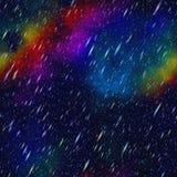 Abstract colorful rain. Stock Photos