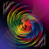 Abstract colorful rainbow background Stock Photography