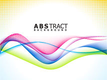 Abstract colorful rainbow background. Vector illustration Royalty Free Stock Photos