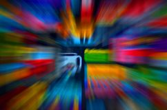 Abstract colorful rainbow background art all colors Stock Photos