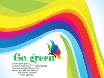 Abstract colorful rainbow background. Vector illustration royalty free illustration