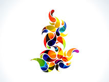 Abstract colorful rainbow floral. Vector illustration vector illustration
