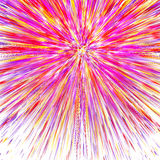 Abstract Colorful Rainbow Lines Background Stock Photo
