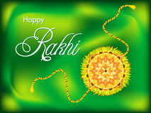Abstract colorful raksha bandhan background Stock Photo
