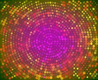 Abstract colorful random dots array background stock illustration