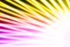 Abstract colorful rays of light Royalty Free Stock Photography