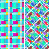 Abstract colorful rectangle pattern Royalty Free Stock Images