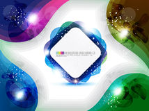 Abstract colorful rectangular background Stock Photography