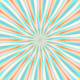 Abstract Colorful Retor Rays Background. Vector Royalty Free Stock Image