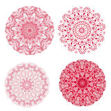 Abstract colorful Retro geometric hexagon. Set of Abstract red colorful Retro geometric hexagon pattern background Stock Photo