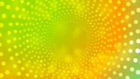 Abstract colorful retro light circles video stock footage
