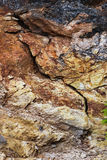 Abstract colorful rock texture 4. Colorful abstract rock texture showing textures and dimension royalty free stock images