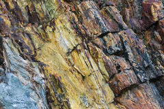Abstract colorful rock texture 3. Colorful abstract rock texture showing textures and dimension royalty free stock photography