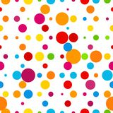 Abstract colorful round celebration background Stock Photo