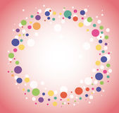 Abstract colorful round circle background. EPS10 Royalty Free Stock Photography