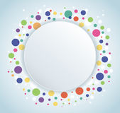 Abstract colorful round circle background. EPS10 Stock Photo