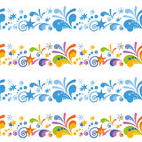Abstract Colorful Seamless Background Royalty Free Stock Photos