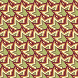 Abstract Colorful Seamless Geometric Pattern stock illustration