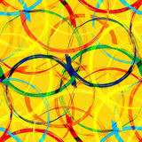 Abstract Colorful Seamless Pattern royalty free illustration