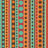 Seamless pattern-07. Abstract colorful seamless pattern. Design element for gift wrap or fabric stock illustration