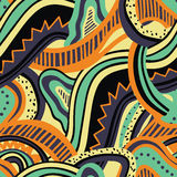 Abstract colorful seamless pattern Royalty Free Stock Images