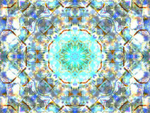Abstract colorful seamless pattern kaleidoscope Stock Images