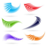 Abstract colorful shapes Royalty Free Stock Images